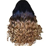 JPJ(TM) Fashion Long Curly Wig For Women Charming Hair Wig Synthetic Water Wave Hair Wigs 65cm