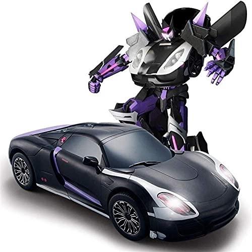 Cool Control Remoto Sports Car Autobots Professional 2.4GHz Control de Radio Radio Vehículo de Alta Velocidad Modelo Modelo Vehículo Auténtico Detalles para Adolescentes Niños Regalo