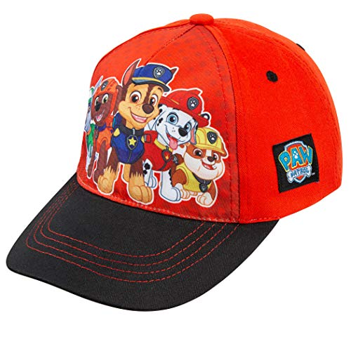 Nickelodeon Paw Patrol Boys Cotton Baseball Cap, Chase with Friends Age 2-5