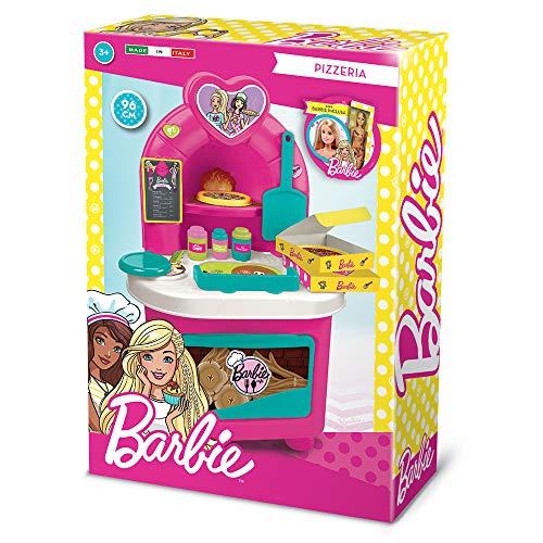Grandi Giochi GG00518, Pizzeria Inclusa Una Barbie, Colore Rosa