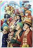 JCYMC Jigsaw Puzzle 1000 Piezas Anime One Piece Posters Madera Niños Juguetes Juego De Descompresión Zy514Tm