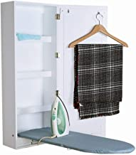 Organizedlife Ironing Board Cabinet Wall Mount Mirror Cabinet with Storage Shelf and Build in Ironing Board All in One Cab...