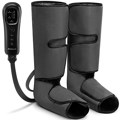Nekteck Leg Massager with Air Compression for Circulation and Relaxation