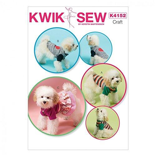 Kwik Sew eenvoudig patroon 4152 hondenjas en -kleding