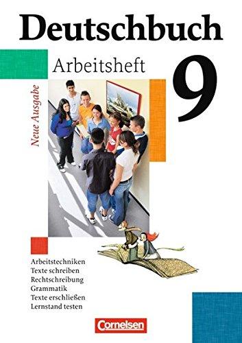Deutschbuch Gymnasium - Allgemeine Ausgabe: 9. Schuljahr - 6-jährige Sekundarstufe I - Arbeitsheft mit Lösungen (Deutschbuch Gymnasium / Allgemeine bisherige Ausgabe)