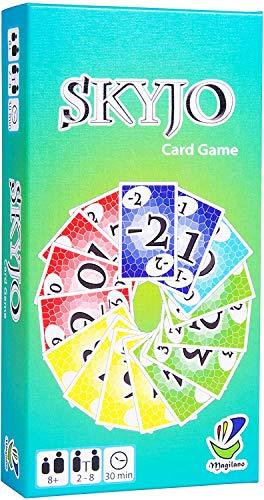 SKYJO Das unterhaltsame Kartenspiel für Jung und Alt spaßige und amüsante Spieleabende im Freundes- und Familienkreis 2020 (2020-SKYJO)