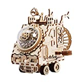 Robotime Laser Tagliato Puzzle Giocattoli-Fai da Te Space Vehicle Box Music per Bambini e adulti-3D Jigsaw Model Craft Kits