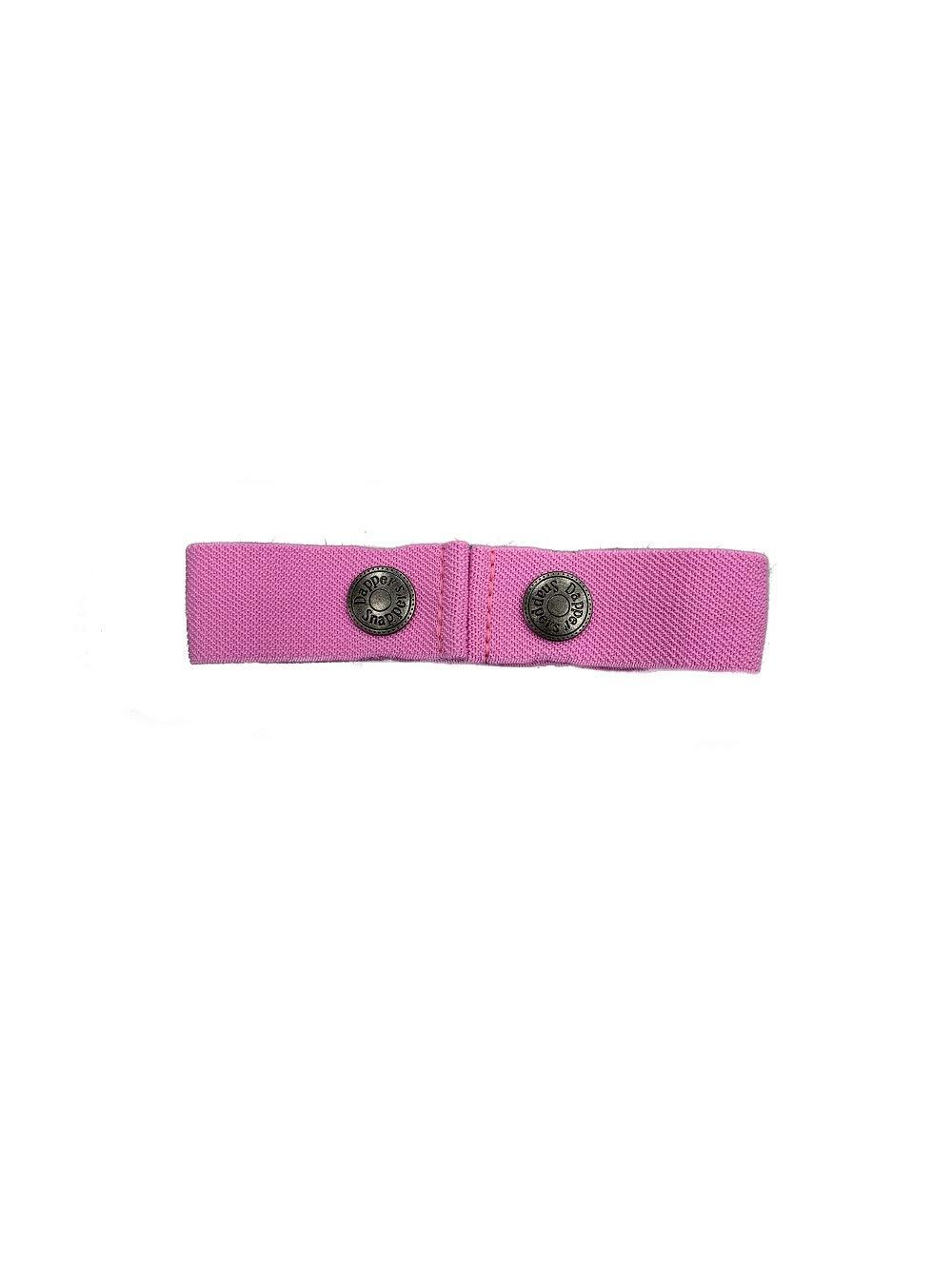 Dapper Snapper Baby & Toddler Adjustable Cinch Belts ~ Many Colors (Lt Pink)