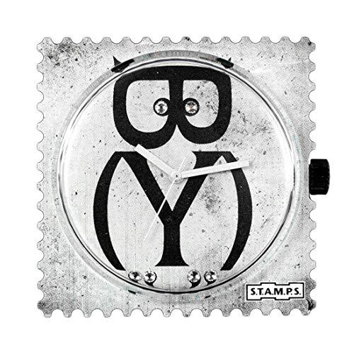 S.T.A.M.P.S. Stamps Uhr Zifferblatt Diamond Owl with Crystals from Swarovski ®