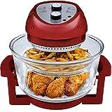 Big Boss 9063 1300-watt Oil-Less Fryer, 16-Quart, Red by Big Boss