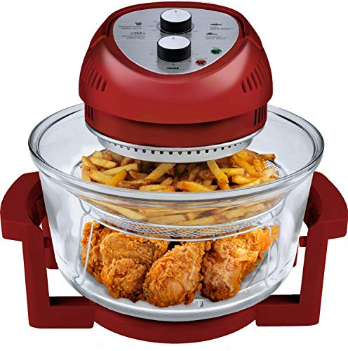 Big Boss Oil-less Air Fryer, 16 Quart, 1300W, Easy Operation...