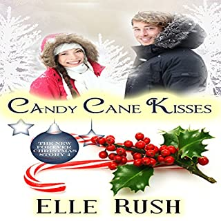 Candy Cane Kisses audiobook cover art