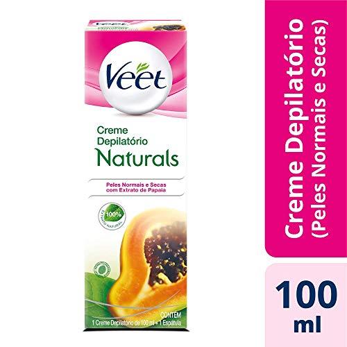 Creme Depilatório Naturals Papaia, Veet