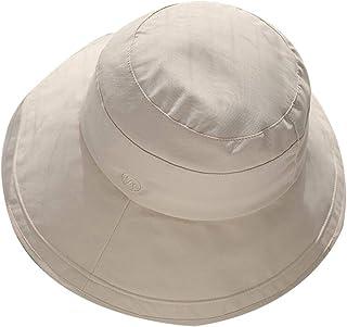 WN - Sombrero - Sombrero de Verano para Mujer Sombrero para el Sol Salvaje Sombrero para el Sol UV Plegable al Aire Libre Sombrero de Pescador Atmósfera Simple (6 Colores) Sombrero para Mujer