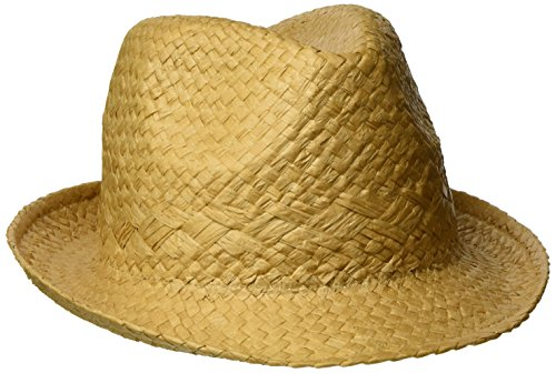 ESPRIT Herren 057EA2P001 Panamahut, Braun (Camel 230), Large