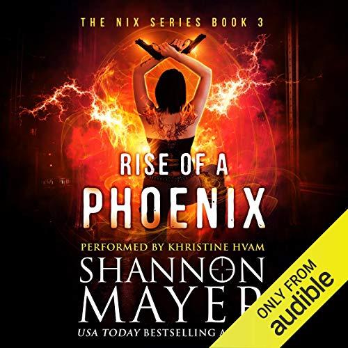 Rise of a Phoenix audiobook cover art