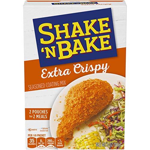 Kraft Shake 'N Bake Extra Crispy Seasoned Coating Mix for Chicken & Pork, 5 oz