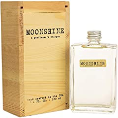 REBEL HEART: Independent. Courageous. Rebellious. These words describe the Moonshine man. Moonshine, a gentleman's cologne, is designed for men comfortable in their own skin. THE WOODS ARE CALLING: A woodsy aroma with hints of spice: including notes ...