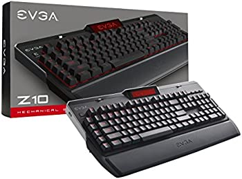EVGA Z10 Red Backlit LED Gaming Keyboard