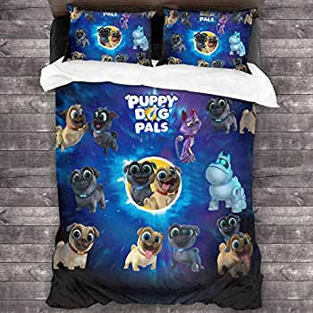 Puppy Dog-pals Twin Bedding Covers Duvet Cover Set Bed Bedspreads Set Full 3-Piece Bedding Set 86 X70