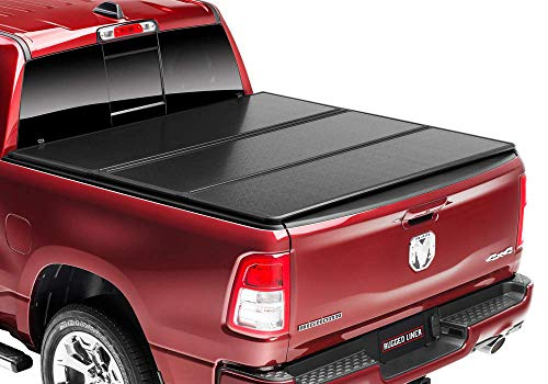 Rugged Liner E-Series Hard Folding Truck Bed Tonneau Cover |...