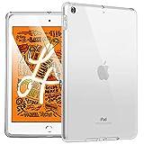 HBorna Funda para Nuevo iPad Mini 5 2019 (5ª Generación, 7.9 Pulgadas), [Crystal Clear] Funda Protectora Trasera Antideslizante de Silicona Suave para iPad Mini 5 (A2133/A2124/A2126), Transparente