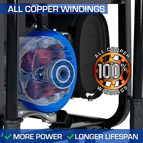 DuroMax XP4400E 4400 watt 7-Hp RV Grade Gas Generator with Electric Start
