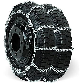 TireChain.com 175R15 175 15 TUV Diamond Tire Chains Set of 2