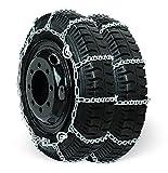 Grizzlar GSL-4819CAM V-Bar Alloy Light Truck Ladder CAM Tire Chains LT215/85-16 225/70-17 225/75-15 8-17.5