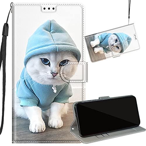 Yiizy Funda para Samsung Galaxy A5 2016 Cuero Tapa Carcasa Billetera con Ranura Tarjeta Soporte Cierre Magnético TPU Silicona Cover Carcasa Galaxy A5 2016, Diseño 8