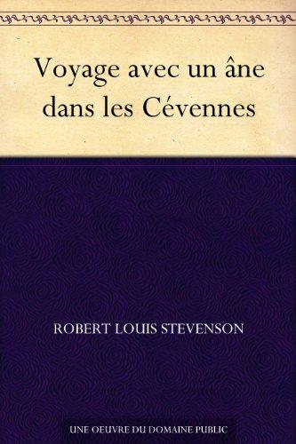 Couverture du livre Voyage avec un âne dans les Cévennes