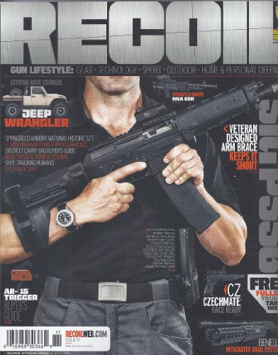 Recoil Magazine # 9 (2013,AR-15 Trigger Buyer`s Guide)