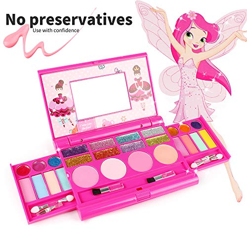 KIDCHEER Real Makeup Palette for Girls...