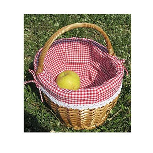 Affordable YINJIESHANGMAO Wicker Rattan Storage Basket Picnic Basket, Gift Basket, Flower Arrangemen...