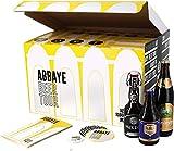Assortiment ou Coffret de bières - Idée Cadeau - Bières du Monde - Pack de Bière - Noël - Anniversaire - Fête des pères (Coffret Bière d'Abbaye et Trappistes)