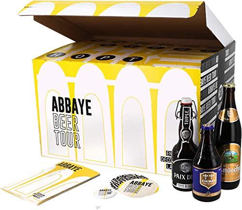 Colección increíbles cervezas - Idea de regalo (Caja regalo Cerveza de Abadía)