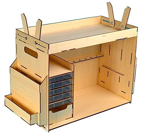 Artesania Latina 27648 Gereedschapskist, bouwset van hout, gereedschap