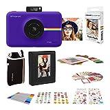 Polaroid Snap Touch 2.0 - Cámara Digital portátil instantánea, Purpura + Set Regalo