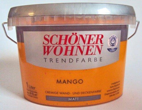 Schöner Wohnen Trendfarben-Mango matt -1 l