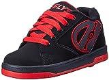 Heelys Propel-K Skate Shoe Black/Red, 5 M US Big Kid
