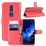 Fold case For Alcatel 1X 2019 Front and Back Case Book Case