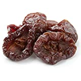 Oh! Nuts Dried Angelino Red Plums | 24oz Bulk Bag Fresh California Sun Dried Pitted Prunes for Snacking & Baking | No Sugar Added, Low Sodium, Dairy Free, Low Cholesterol, Low Fat & High Fiber Fruits