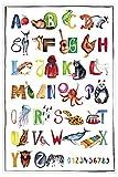 Close Up Das ABC Premium Poster für Kinder, Alphabet