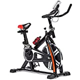 FDW Cycling Bike Exercise Bike Indoor Cycling Spin Bike Bicycle Cardio Fitness Cycle Trainer Heart...