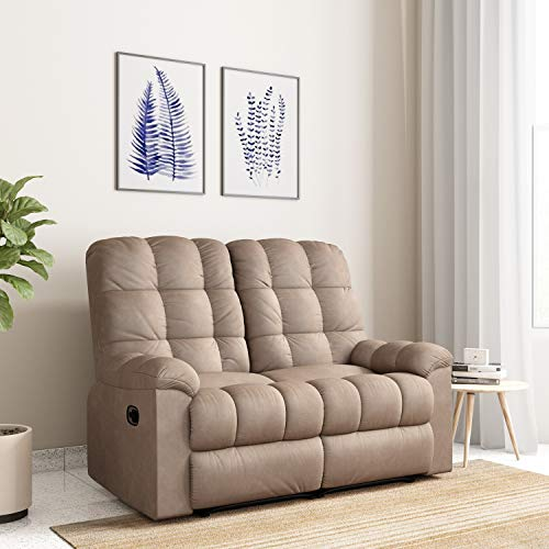 Solimo Capri Two Seater Fabric Recliner