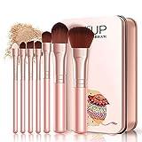 Generic 7Pcs Cosmetic Cepillos Set Foundation Cepillo Eye Shadow Lip Brow Cepillo Maquillaje herramientas Set