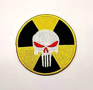 Aruno maison Punisher Skull Biohazard Zombie 01 Patch Biker DIY Iron Sew On Embroidered Patch for Denim Jacket Vest Cap