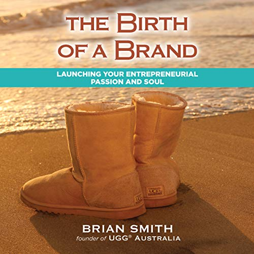 The Birth of a Brand audiobook cover art