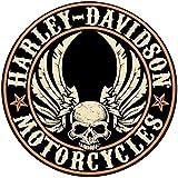 Adesivi riflettenti per casco Harley Davidson Central Skull