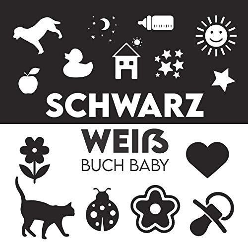 Schwarz Weiß Buch Baby: Kontrastkarten Baby, Kontrastbuch Baby, Mein Erstes Fokusbuch, Baby Eye Buch, Fokusbuch Baby, Black & White Board Book, Kontrast Buch Baby, Babybuch Schwarz Weiß